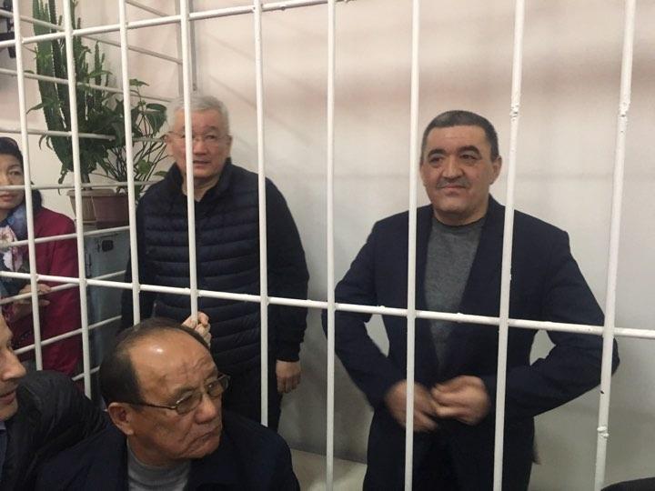 Экс-мэрлер Кулматов менен Ибраимов СИЗО-1ге которулбай турган болду