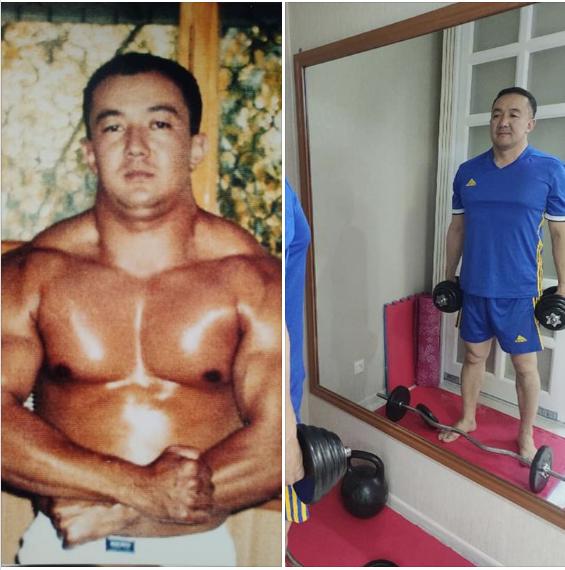 Депутат Турускуловдун 15 жыл мурдагы сүрөтүн Ван Даммга салыштырышууда