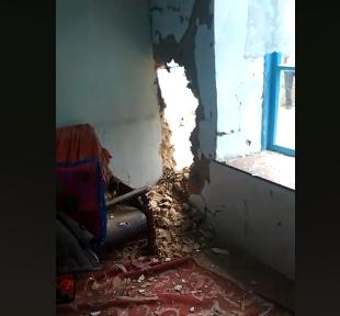 Базар-Коргондо үйгө чагылган түшүп, 7 адам жабыркады (видео)