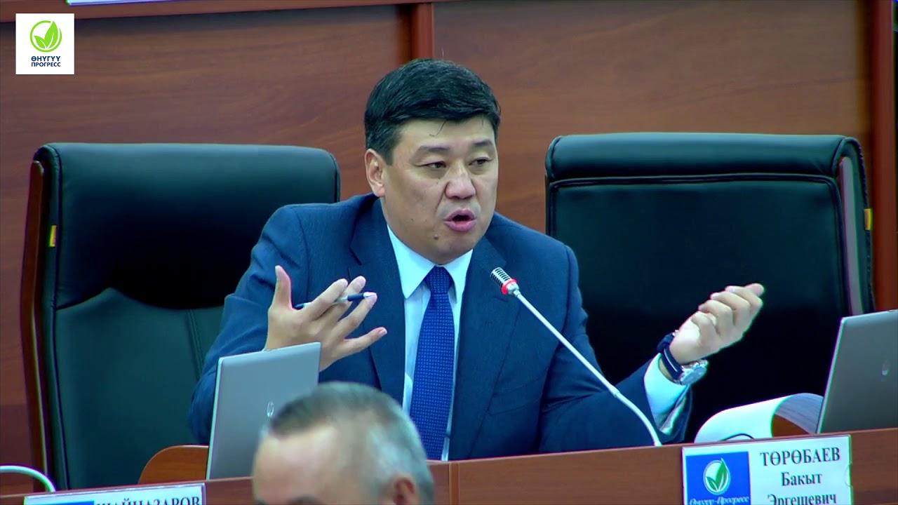 Бакыт Төрөбаев журналисттерди айыптады