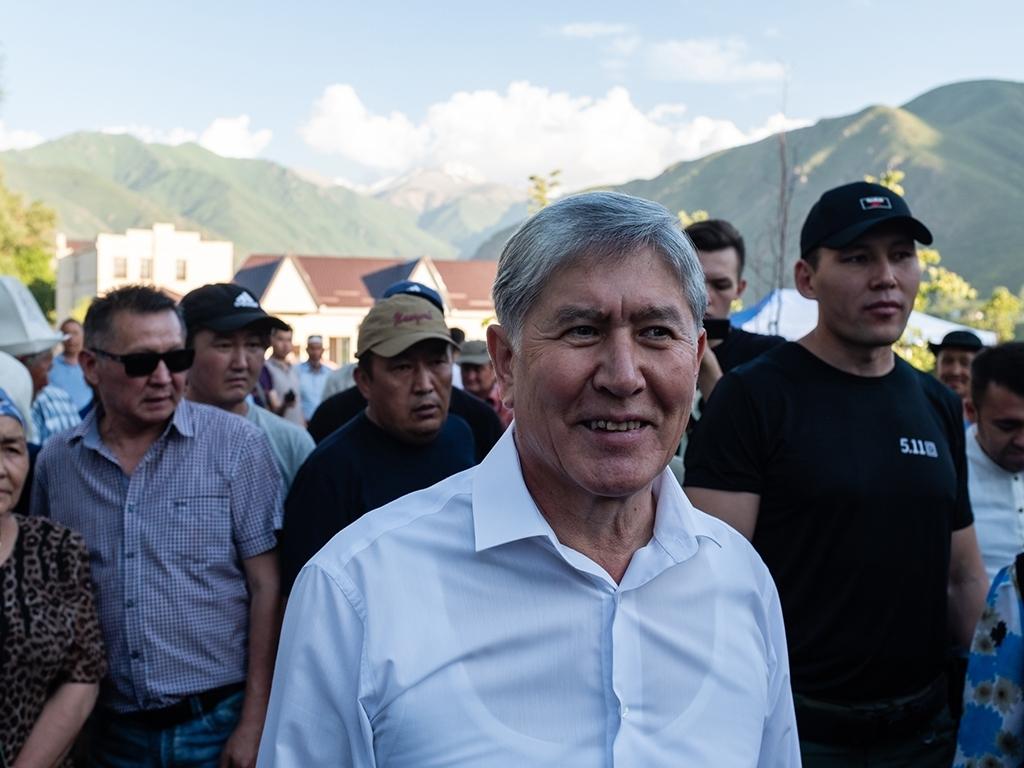 Бишкекте 3-июлда Атамбаевдин катышуусунда митинг өтөт