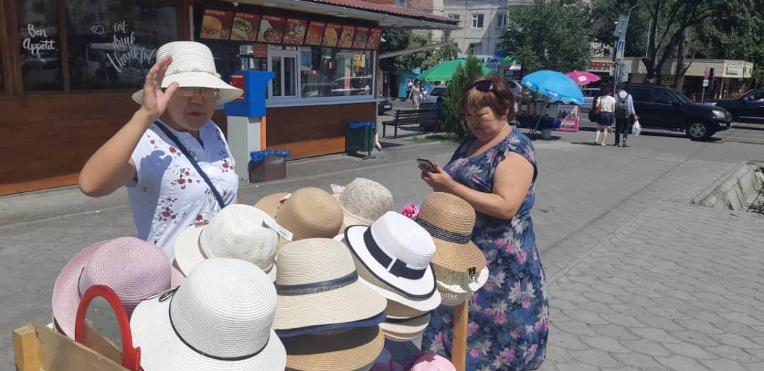 Бишкекте Орто-Сай базарынын тегерегинде башаламан соода кылгандар иретке келтирилүүдө