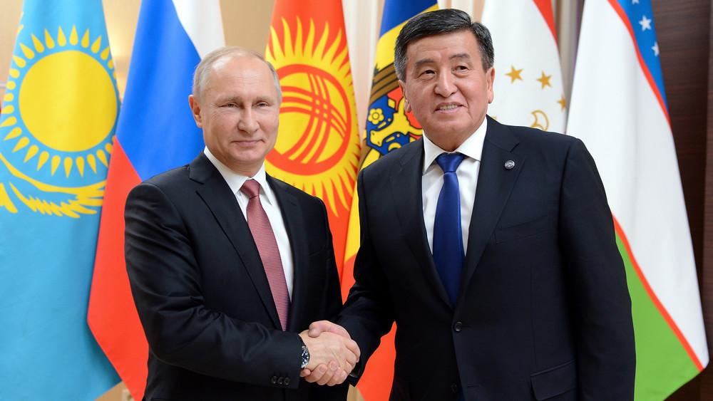 Бүгүн Жээнбеков Путин менен жолугушат