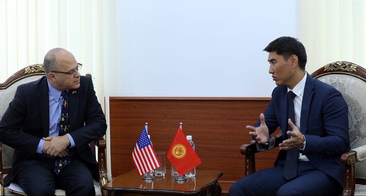 Бүгүн Бишкекте төртүнчү кыргыз-америкалык эки тараптуу консультациялар өтөт