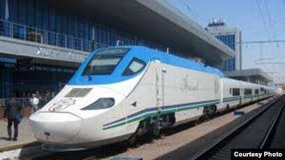 Тез жүрүүчү Ташкент-Алматы поездинин билетинин баасы арзандайт