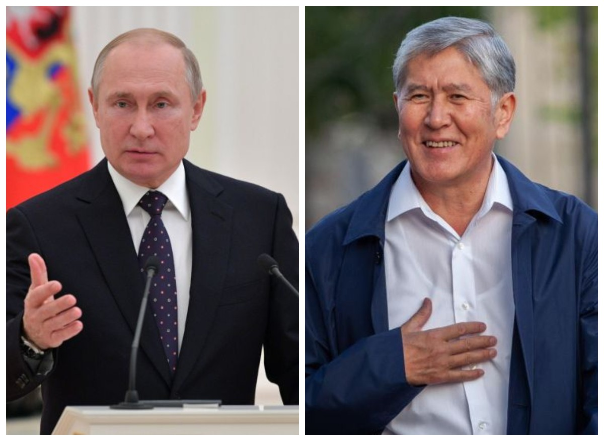 Атамбаев Путин менен жолукту