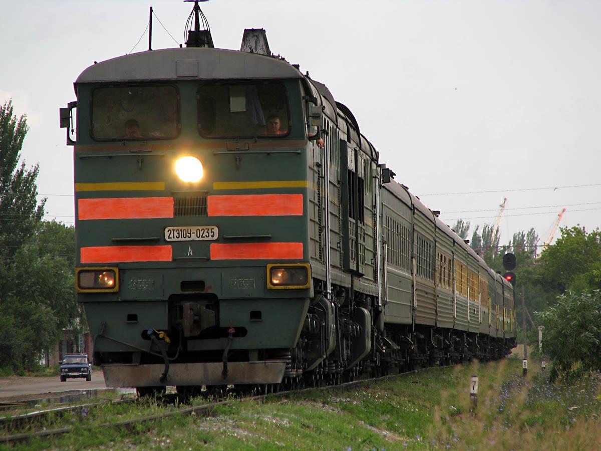 Кара-Балтада поезд бир адамды сүзүп кетти
