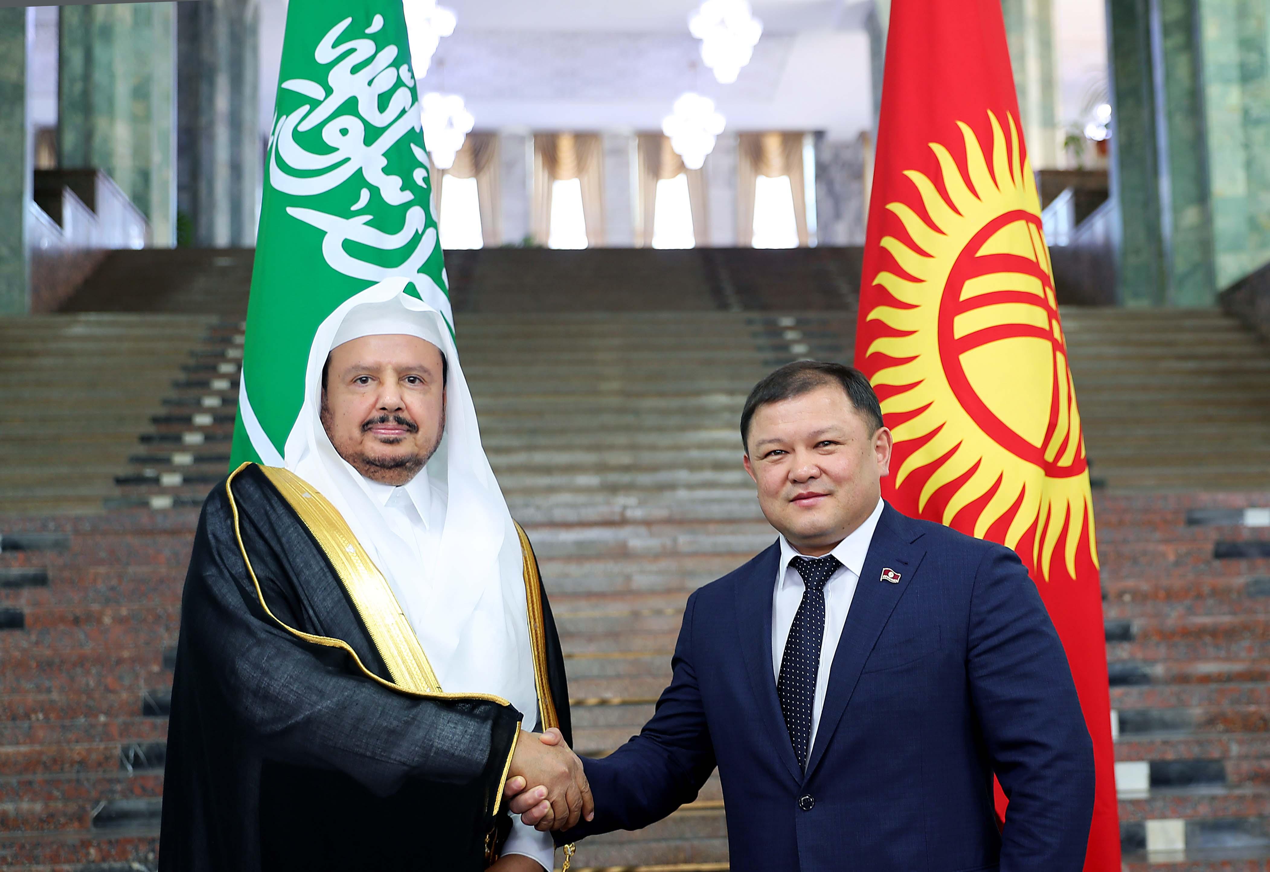 Кыргызстан-Сауд Арабия парламентинин төрагалары жолукту