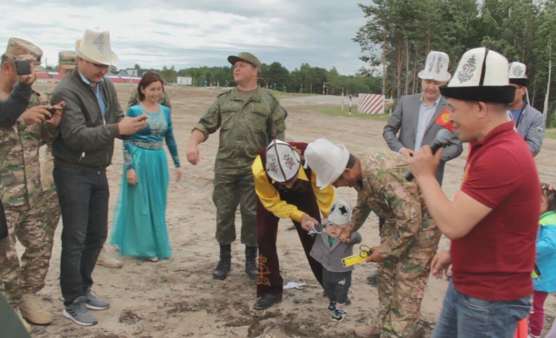 Кыргыз жоокерлери Орусияда кыргыз маданиятын даңазалашты