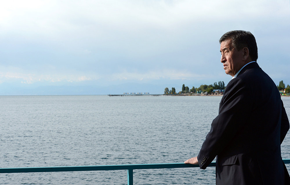 Президент Сооронбай Жээнбеков эмгек өргүүсүнө чыкты