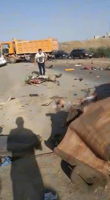 Алматы-Бишкек унаа жолунда катталган жол кырсыгында 5 адам мерт кетти
