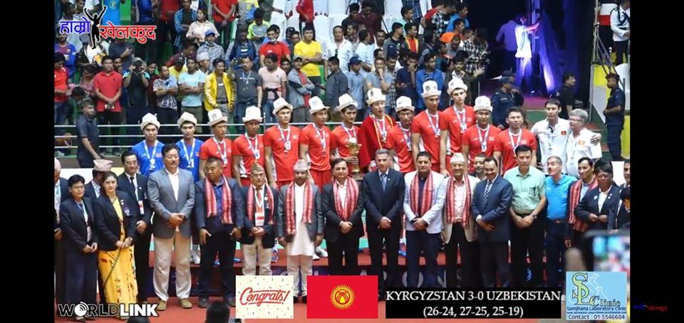 Волейбол: Кыргызстан Азия чемпиону аталды