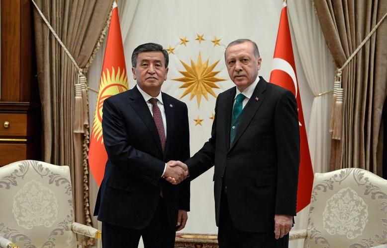 Сооронбай Жээнбеков  Режеп Тайип Эрдоган менен телефон аркылуу сүйлөштү