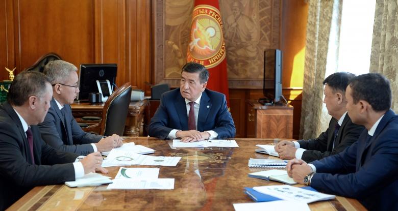 Президент: Ишкерлерди колдоп, алардын долбоорлорун активдүүрөк каржылоо керек