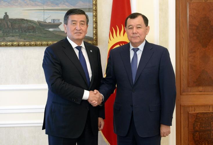 Кыргызстандагы казак элчисинин миссиясы аяктады