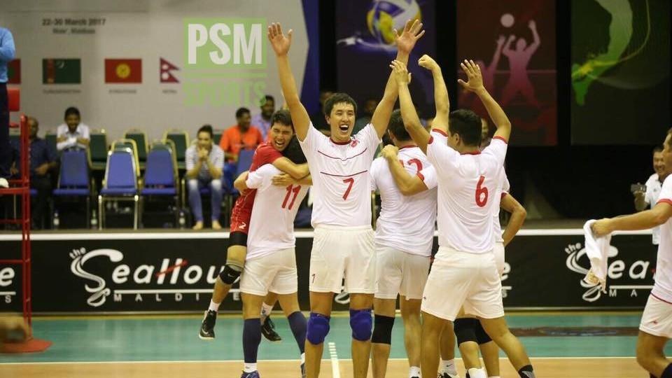 Волейбол: Азия чемпиондугунда Кыргызстан курамасы финалга чыкты