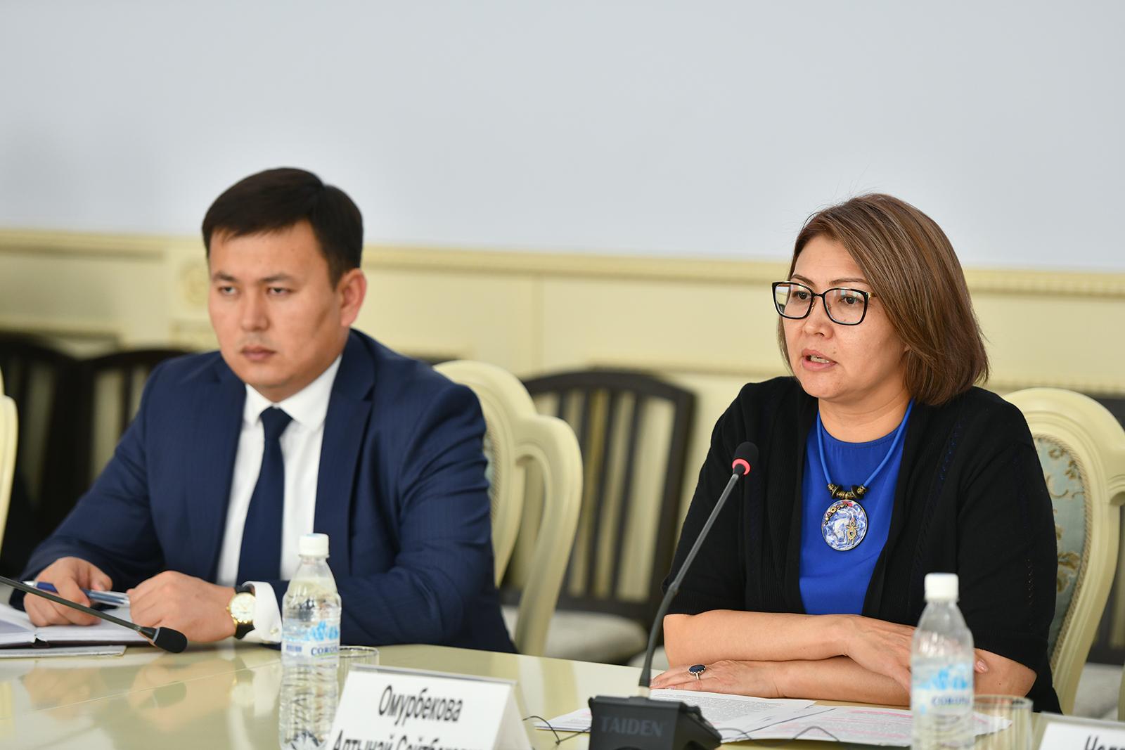 Алтынай Өмүрбекова: Өкмөт жарандарга сапаттуу медициналык кызмат көрсөтүү боюнча иш алып барууда