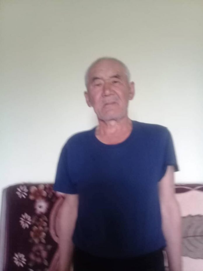 65 жаштагы Гани Абдурахимов 7-августтан бери изделүүдө. Ал эс тутумун жоготуу оорусу менен жабыркайт