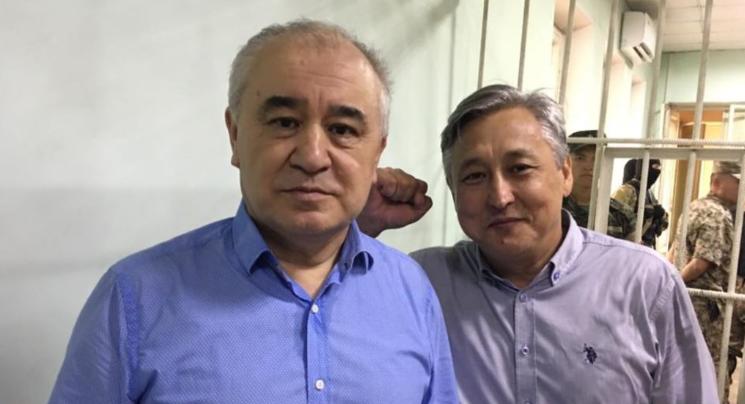 Биринчи Май райондук сотто Текебаев менен Чотоновдун иши  качан каралары белгилүү болду