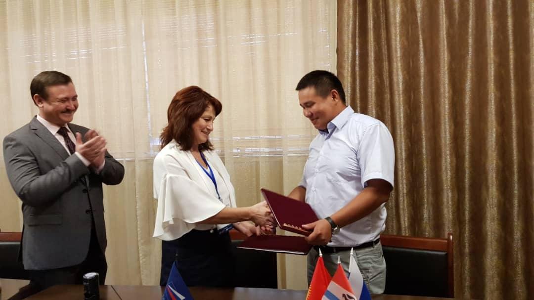 Кыргызстандык ишкер форель балыктарын экспортто боюнча Орусиялык ишкана менен келишим түздү