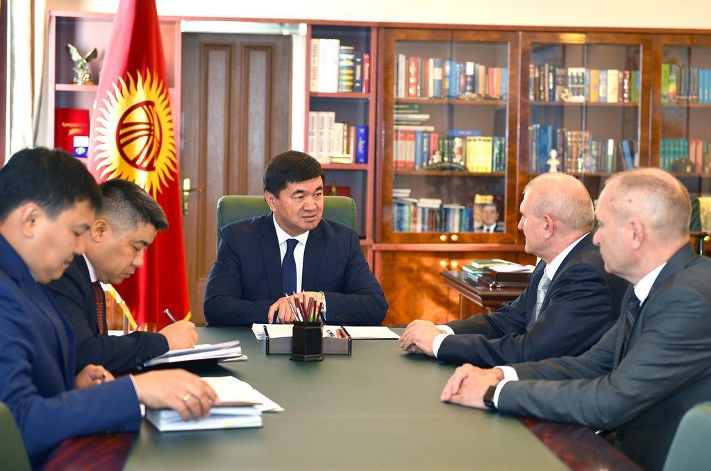 Абылгазиев Орусиянын Кыргызстандагы элчиси Николай Удовиченко менен жолукту