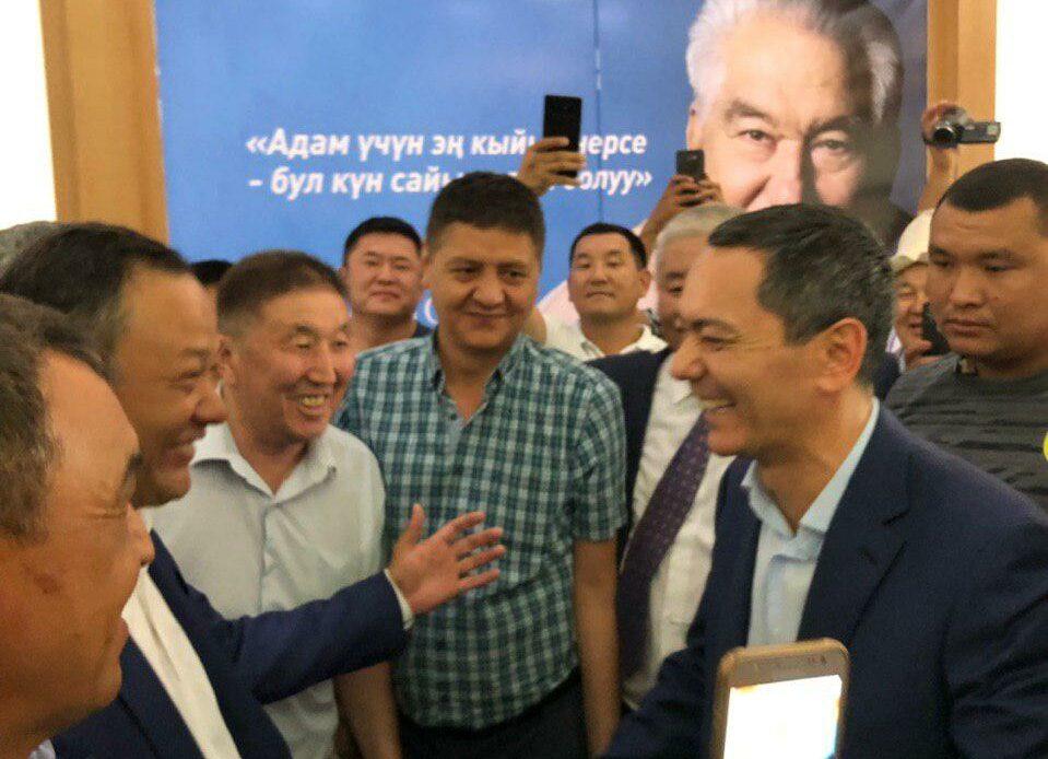 Бабанов Кыргызстанга келди