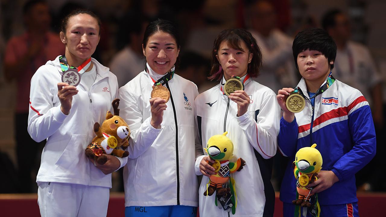 Айсулуу Тыныбековага Азия оюндарынын чемпиондугу кайтарылды