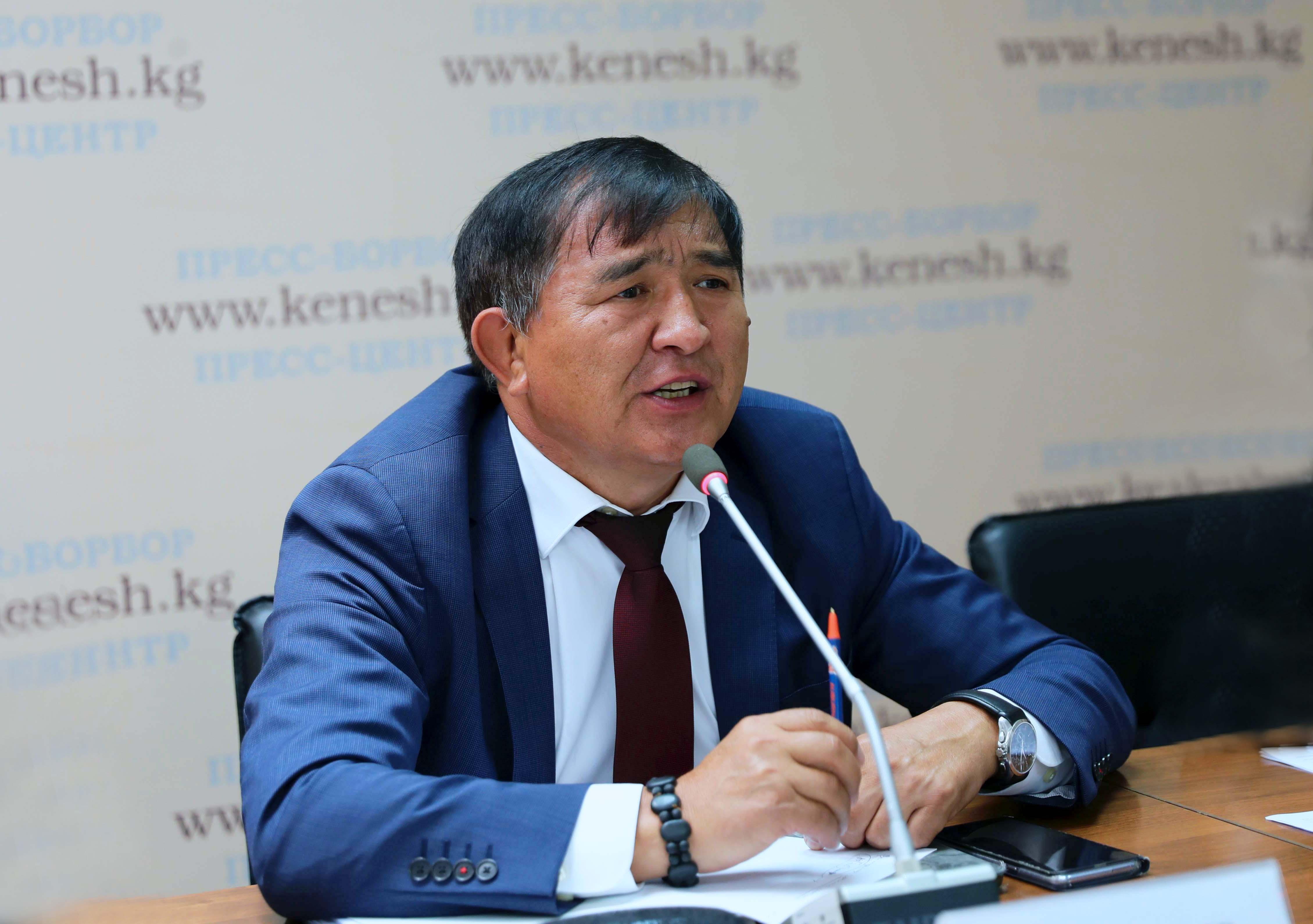 Депутат Экмат Байбакпаев энергиянын кайра жаралуучу булактарын өнүктүрүү керек экенин айтты