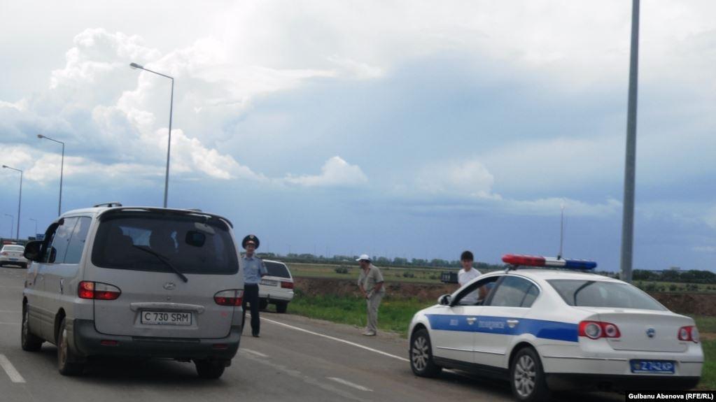 Казакстанда жол кырсыгынан 23 адам жаракат алды