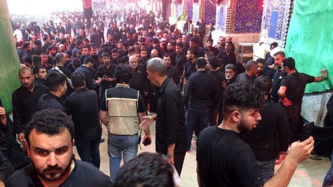 Иракта Ашура күнү тыгында 30дан ашык адам каза болду
