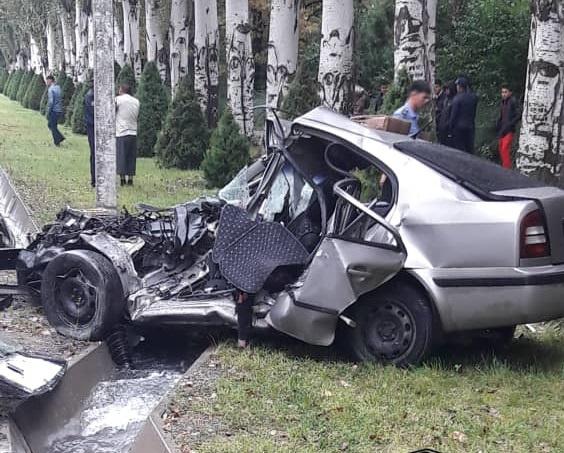 Бишкекте жол кырсыгынан каза болгон 4 бала өспүрүмдөр болушкан