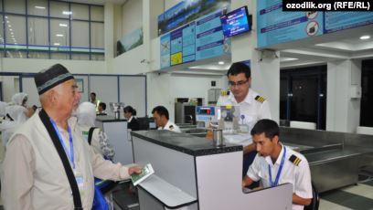 Өзбекстанда Муфтияттын уруксаты жок ажылыкка барып келген зыяратчылар суракка алынды