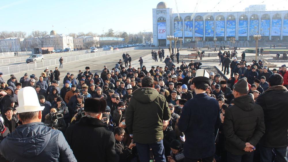 Бишкектин борборунда сентябрдын аягына чейин митинг өткөрүүгө тыюу салынды