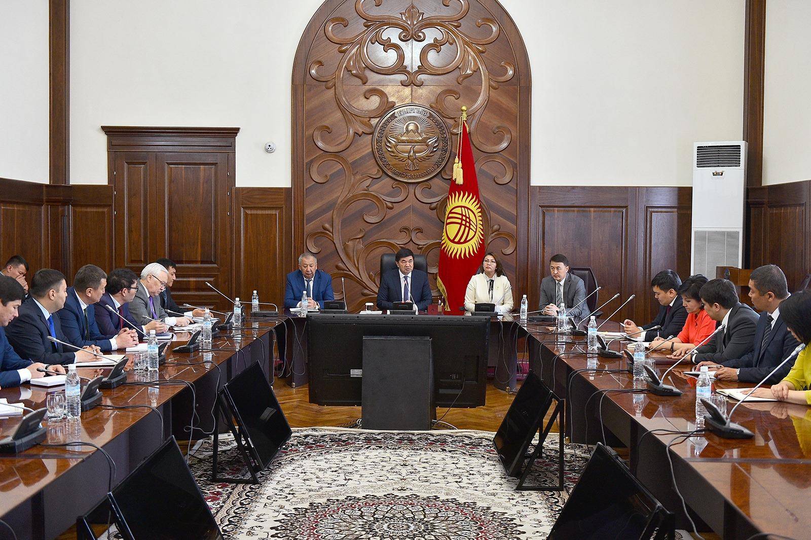 Өкмөттү  алмаштыруу үчүн  министрлер кабинетин түзүү аракети башталды