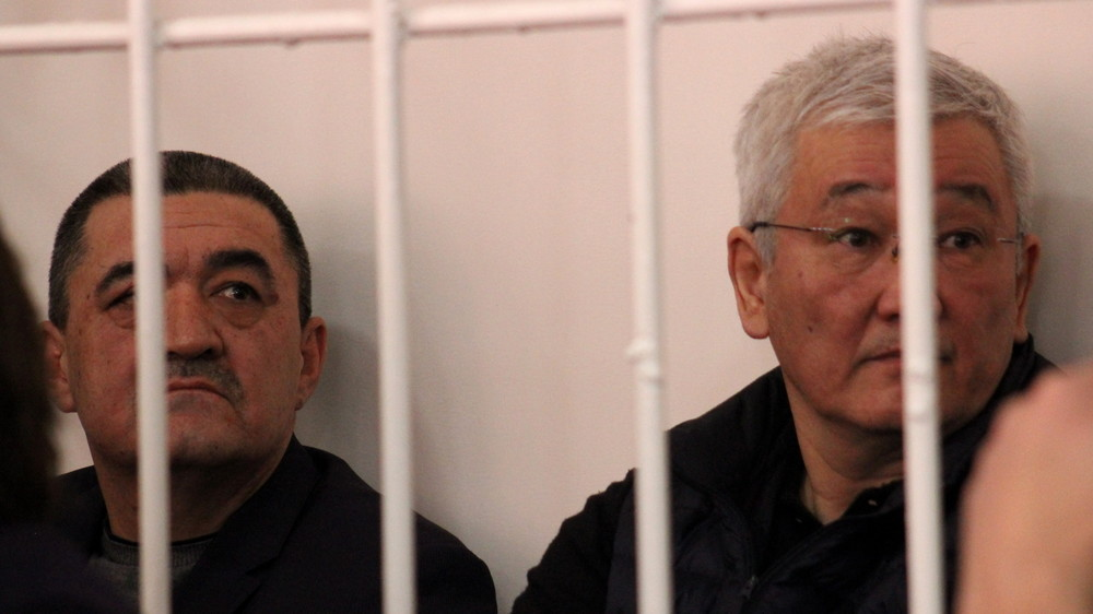 Бишкектин мурдагы мэрлери Кулматов менен Ибраимов 6-ноябрга чейин абакта калтырылды