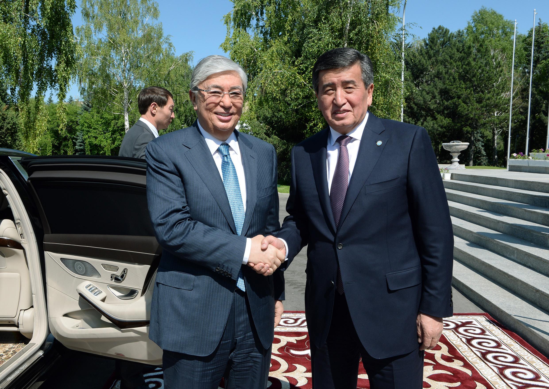 Казакстандын президенти Касым-Жомарт Токаев Кыргызстанга келет