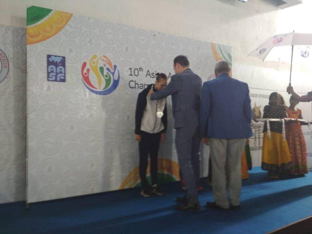 Сууда сүзүү боюнча Азия чемпионатында кыргызстандыктар 3 медаль утту