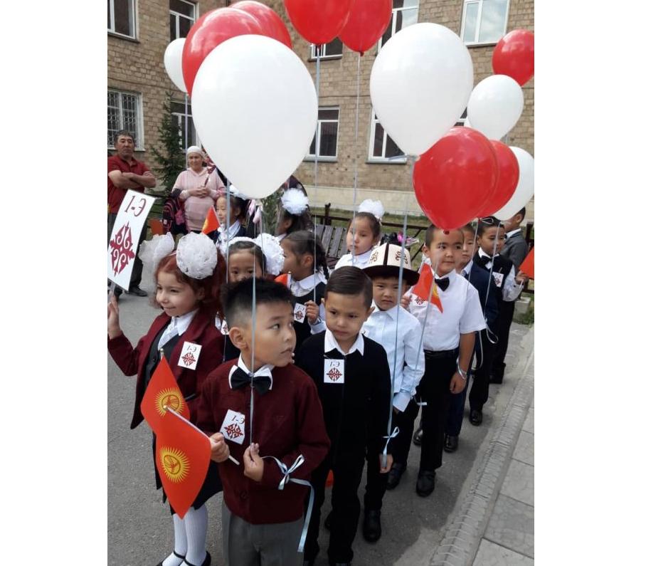 Бишкектеги № 62 мектеп-гимназиясында биринчи жолу кыргыз класс ачылды