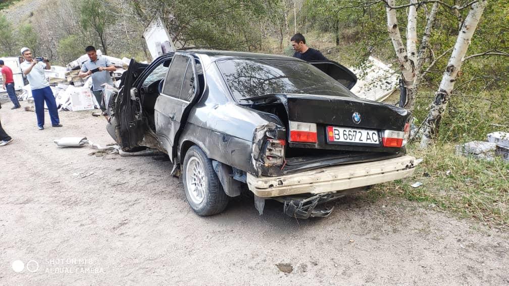 Бишкек-Ош жолундагы унаа кырсыгы бир адамдын өмүрүн алды