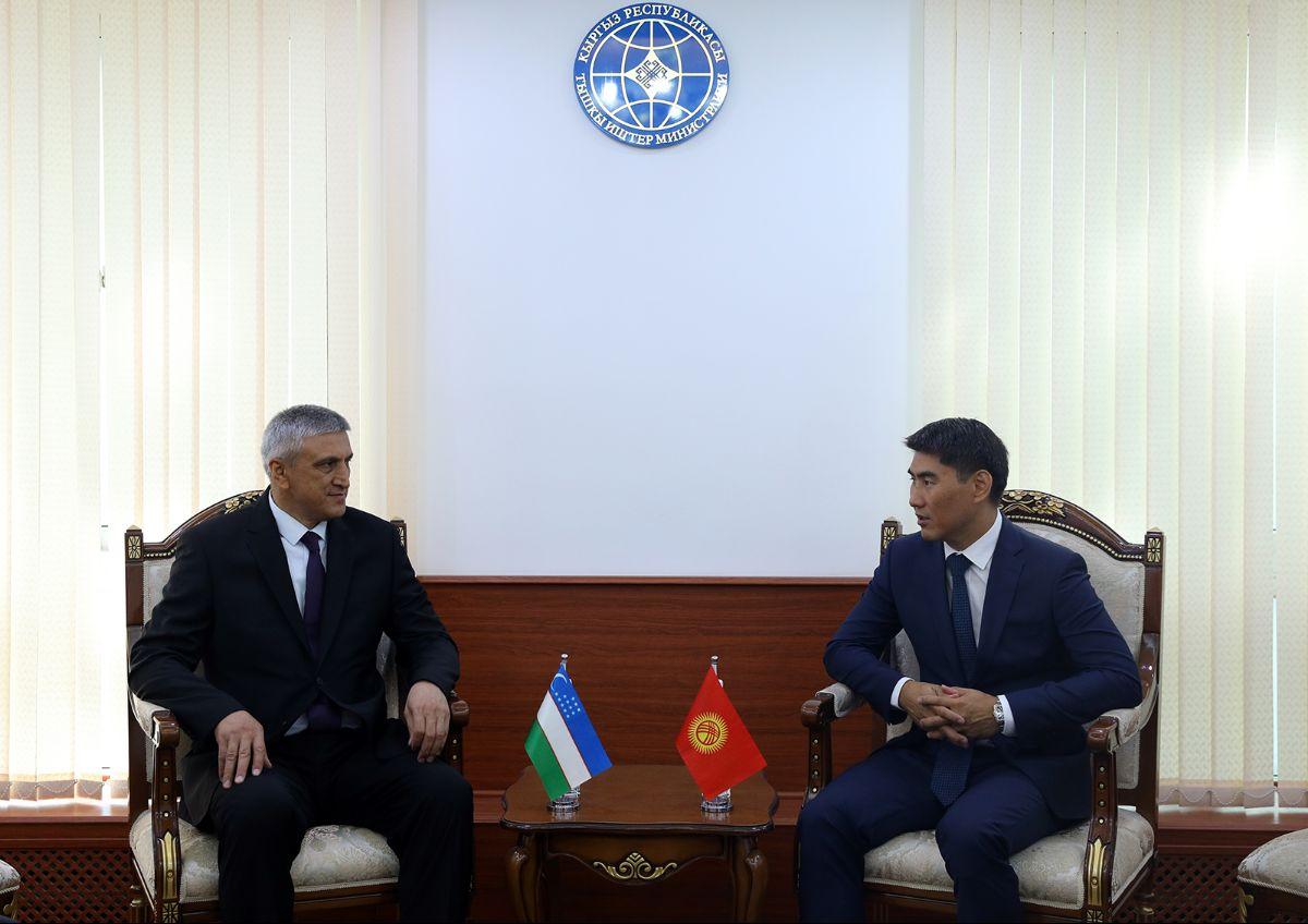 Өзбекстандын Кыргызстандагы элчисинин дипломатиялык миссиясы аяктады