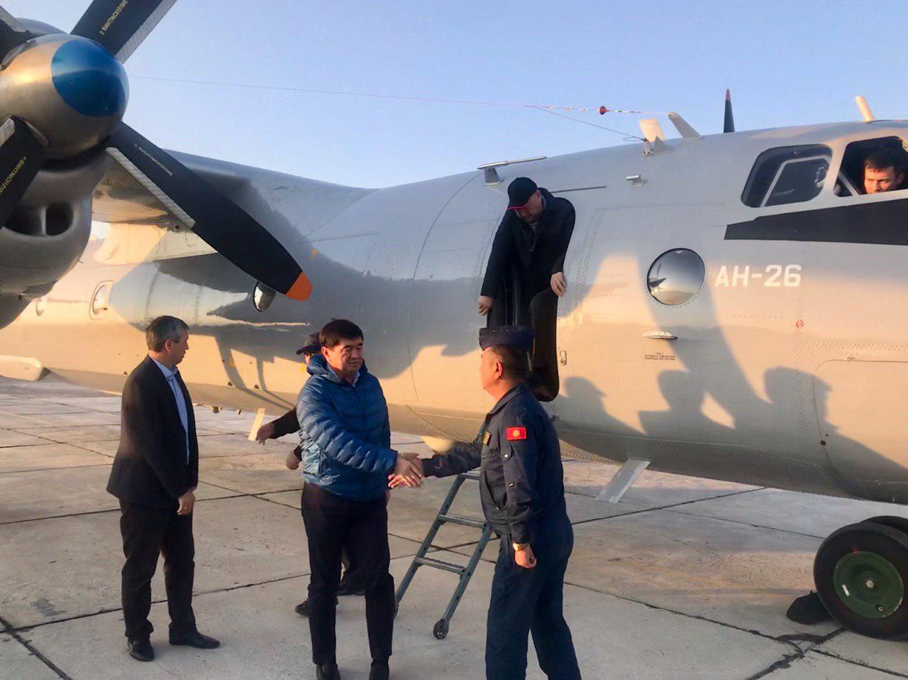 Мухаммедкалый Абылгазиев Баткен облусуна келди