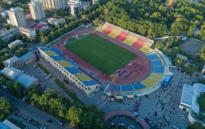 Футбол боюнча Дүйнөлүк чемпионатка карата Бишкектеги стадион оңдолот