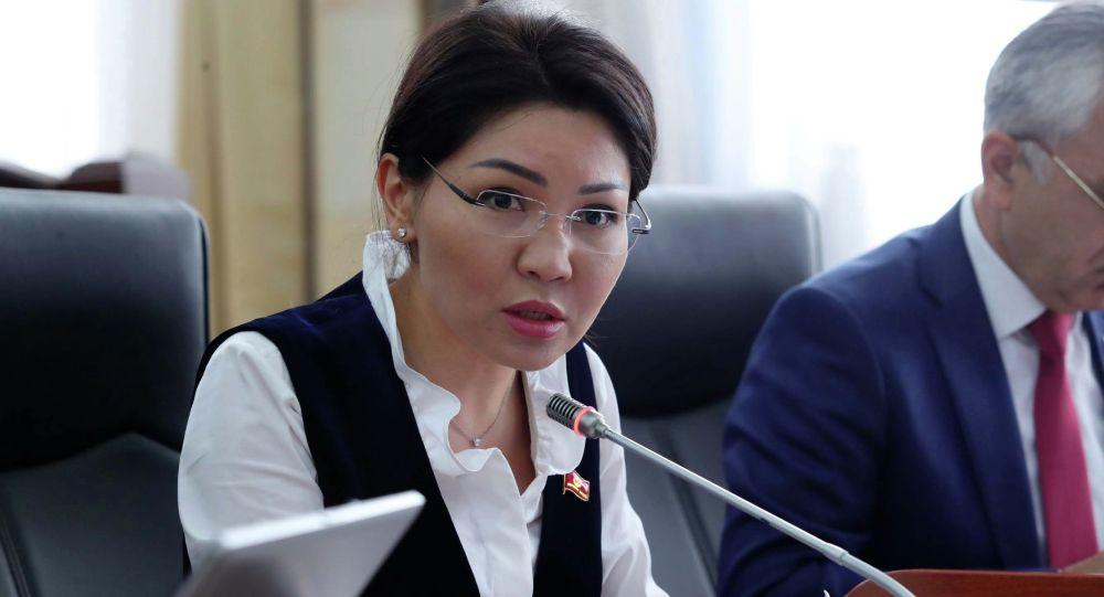 Сурабалдиева: Кыргызстанга аткезчилик жол менен муздаткыч кездеме болуп, тоок эти персик деп кирип жатат