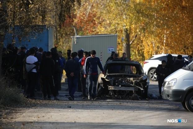 ИИМ: Новосибирсктеги массалык мушташ боюнча кылмыш иши козголду