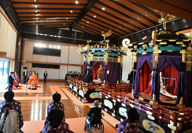 Сооронбай Жээнбеков Жапониянын Императору Нарухитонун такка отуруу аземине катышты — фото