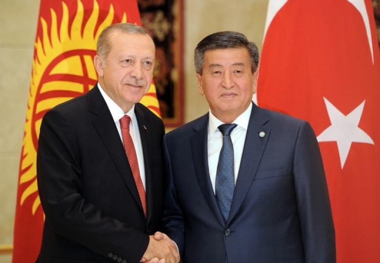 Жээнбеков Эрдоганды Түркия Республикасынын күнү менен куттуктады