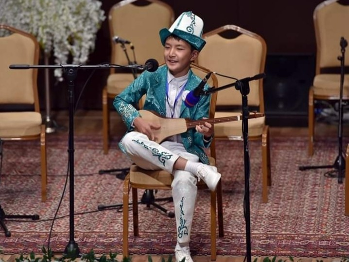 Кыргызстандык окуучу Бакуда өткөн сынакта үчүнчү орунду алды