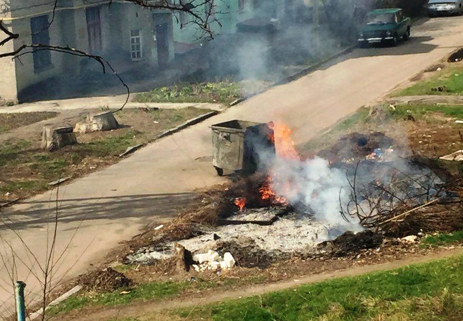 Бишкекте таштанды өрттөгөн жашоочуларга айып пул салынат