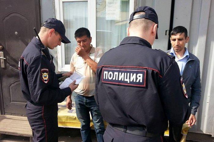 Москвада мигранттар жапырт текшерилүүдө
