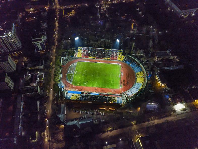 Футбол: Кыргызстан-Жапония беттешине карата айрым көчөлөр убактылуу жабылат